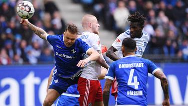 In der allerletzten Minute stellte Darmstadt beim HSV auf Sieg