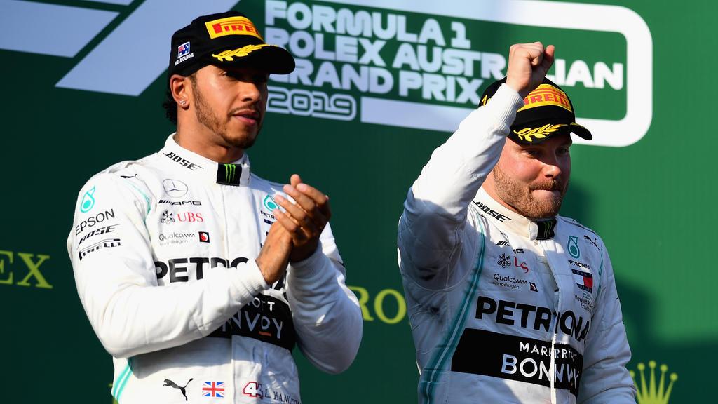 Muss Lewis Hamilton Valtteri Bottas 2019 noch öfter applaudieren?
