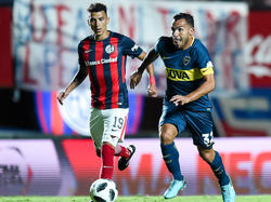Tévez marcó el único gol de Boca contra San Lorenzo. (Foto: Getty)