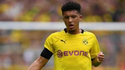 Jadon Sancho ist der Überflieger bei Borussia Dortmund