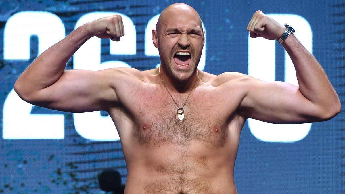 Tyson Fury spuckt mal wieder große Töne