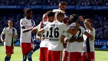 Der HSV ist neuer Tabellenführer der 2. Bundesliga