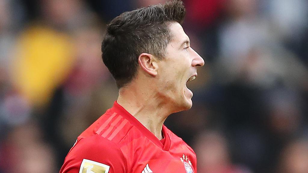 Robert Lewandowski egalisierte eine Bestmarke in der Bundesliga