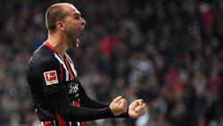 Bas Dost erzielte gegen Leverkusen den 3:0-Endstand