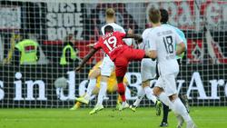 Moussa Diaby (19) feierte ein starkes Debüt für Bayer Leverkusen