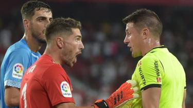 Luca Zidane sah nach einem Foul die Rote Karte