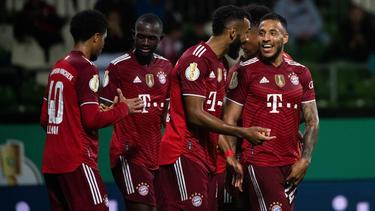 Corentin Tolisso (r.) könnte den FC Bayern im Winter verlassen