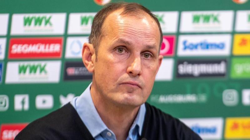Neu beim FC Augsburg auf der Trainerbank: Heiko Herrlich