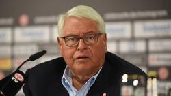 Wolfgang Steubing sieht im Fußball nur wenig Solidarität, fand aber lobende Worte für den einstigen Bayern-Präsident Uli Hoeneß und BVB-Chef Hans-Joachim Watzke