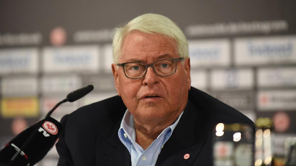 Eintracht Frankfurts Aufsichtsratchef Wolfgang Steubing hat über den FC Schalke gesprochen