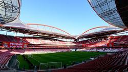 Estadio de la Luz en Lisboa.