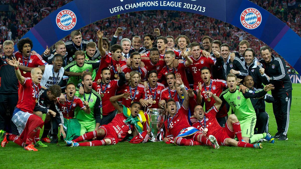 Triple Sieger Bayern