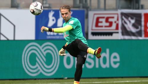 Luca Plogmann spielt nächste Saison für den SV Meppen