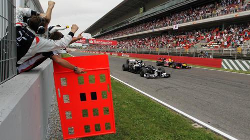 Pole-Position und Sieg in Spanien: Pastor Maldonado sorgt 2012 für eine Sensation