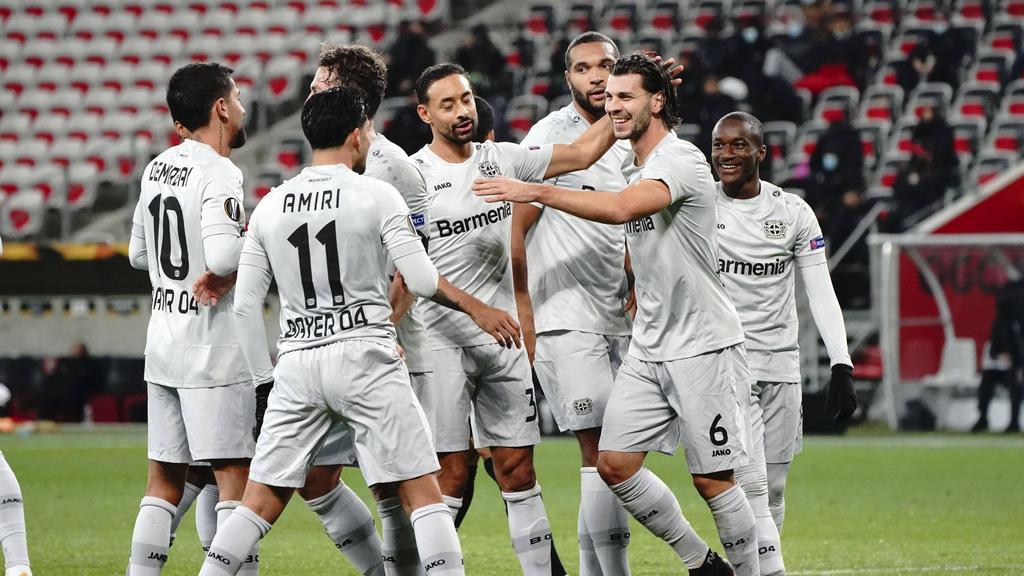 Bayer Leverkusen überwintert in der Europa League