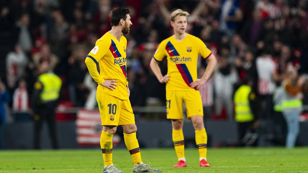 Werden beim FC Barcelona geschont: Lionel Messi und Frenkie de Jong