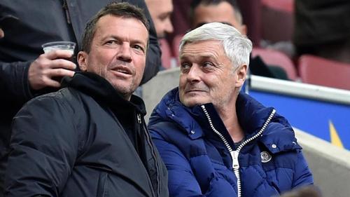 Könnte sich Lothar Matthäus gut als Bundestrainer vorstellen:Armin Veh (r)