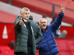 Solskjaer und Mourinho