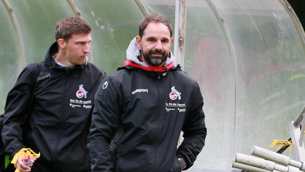 Der 1. FC Köln bindet Stefan Ruthenbeck langfristig