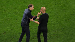 Vom Lehrling zum Meister? Thomas Tuchels (li.) Chelsea bezwingt Pep Guardiola und Man City auch im CL-Finale