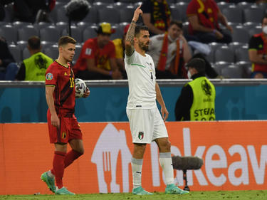 Leonardo Spinazzola no defenderá a Italia en lo que queda de Euro.