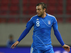 Griechenland  mit einem 1:1 im Test gegen Russland