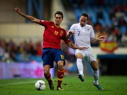 WM-Qualifikation 2014: Spanien gegen Frankreich