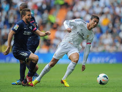 Ronaldo verliert den Halt