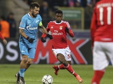 El portugués Danny, con el Zenit. (Foto: ProShots)