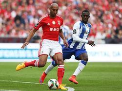 Benficas Abwehr hielt gegen den FC Porto dicht
