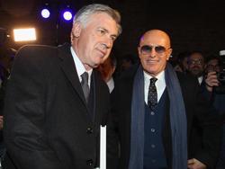 Arrigo Sancchi (r.) ist von Carlo Ancelotti überzeugt