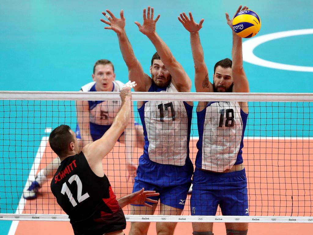 Die Spieler des russischen Teams dürfen sich über den Einzug ins Halbfinale freuen