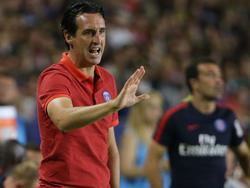 Emery durante la Internacional Champions Cup con el PSG. (Foto: Getty)