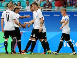 Olympia-Team: Volle Konzentration auf das letzte Gruppenspiel