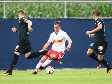Nico Gorzel war Kapitän von Salzburgs U18-Meistermannschaft und wird wohl auch in der Youth League dabei sein