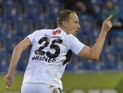 Hannes Aigner ist mittlerweile ein Vorarlberger Volksheld