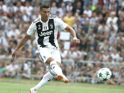 Cristiano Ronaldo gibt am Samstag sein Debüt in der Serie A