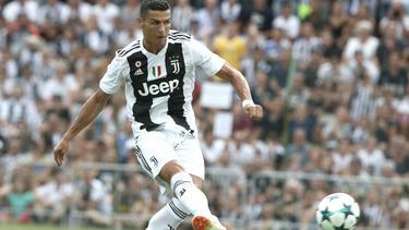 Cristiano Ronaldo trifft im ersten Spiel für Juventus