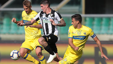 Rodrigo De Paul con la camiseta de Udinese. (Foto: Getty)