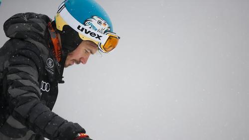 Felix Neureuther schied bei seinem letzten großen Rennen im 2. Durchgang aus