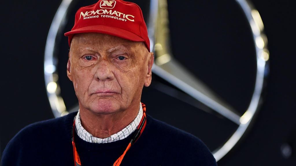Die Formel-1-Welt sorgt sich um Niki Lauda