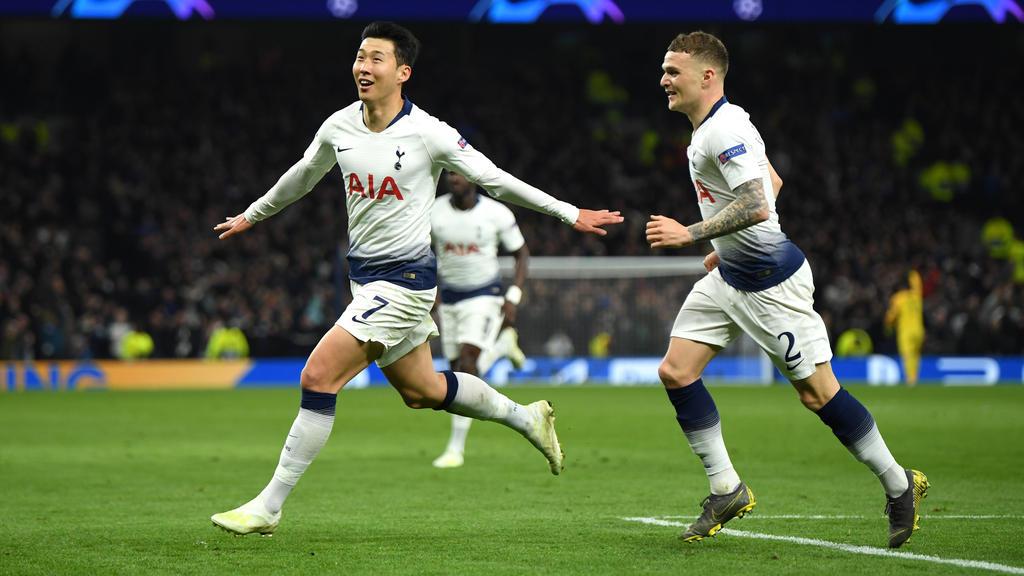 El coreano Son marcó el único tanto de los 'Spurs'. (Foto: Getty)