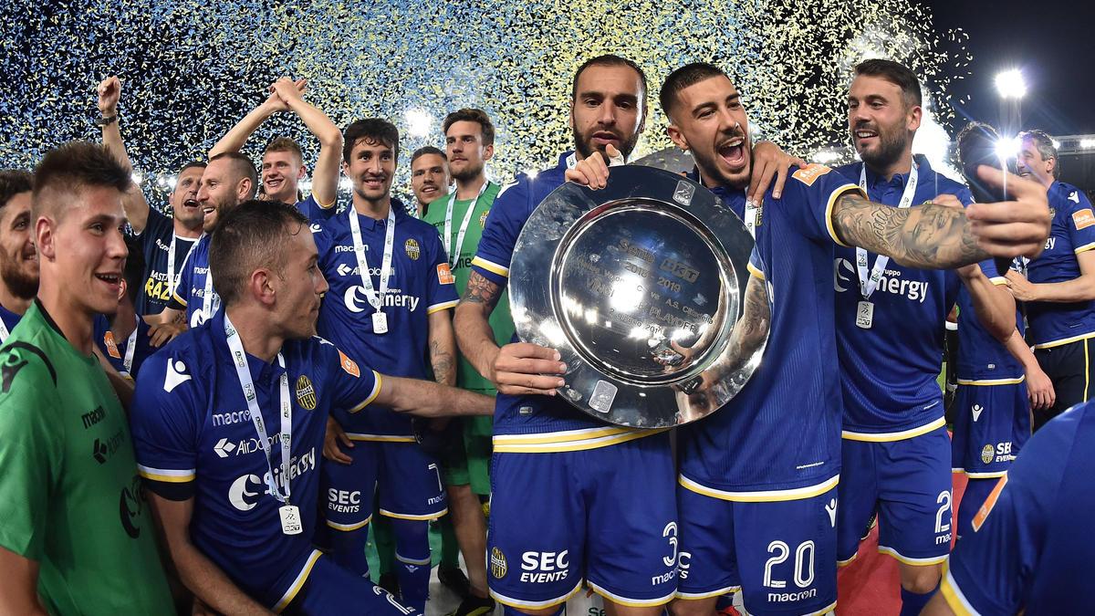 Hellas Verona kehrt in die erste italienische Liga zurück