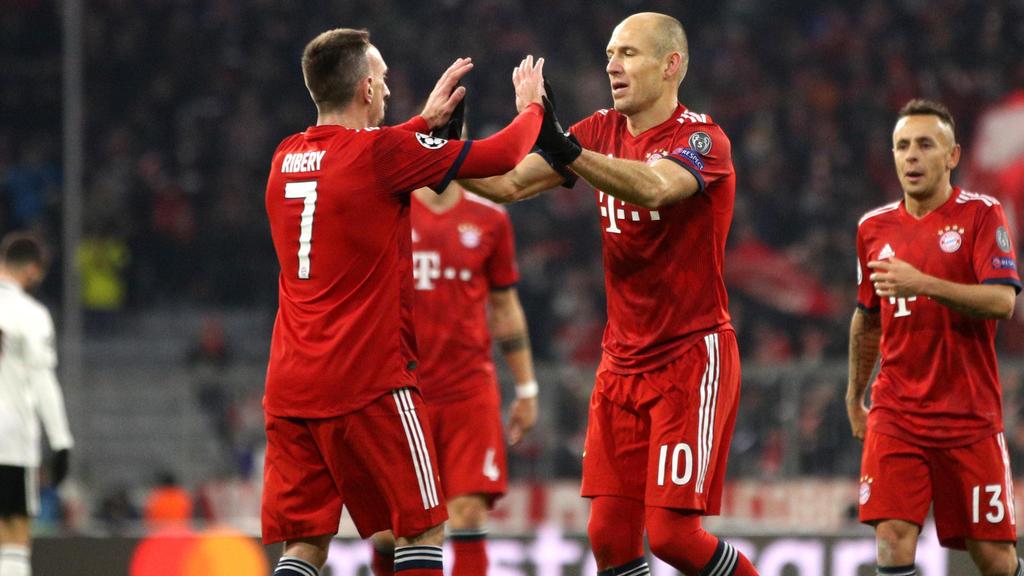Franck Ribéry und Arjen Robben verlassen den FC Bayern im Sommer