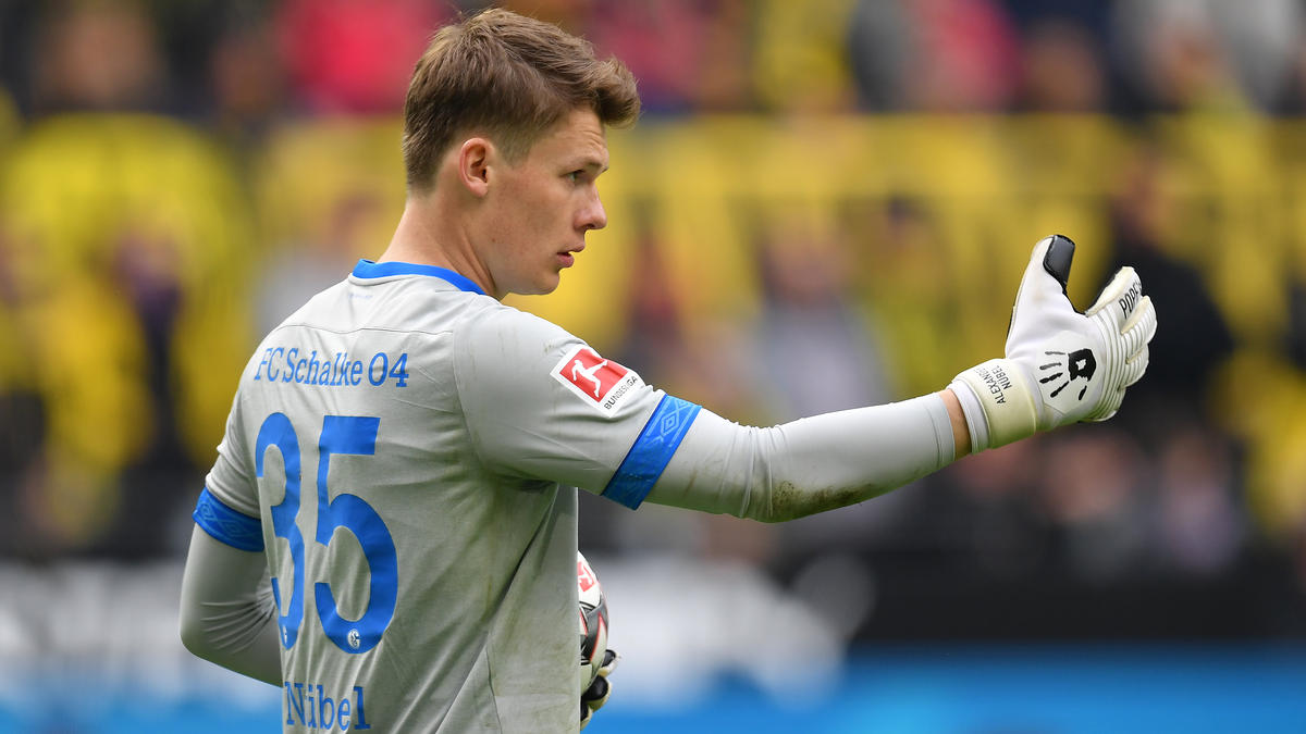 Schalkes Alexander Nübel gilt als Favorit auf den Platz im U21-Tor