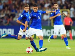 Pellegrini con la selección Sub-21 de Italia (Foto: Getty)