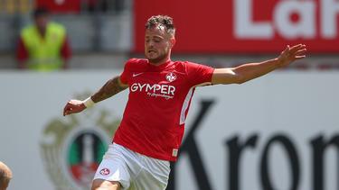 Der 1. FC Kaiserslautern setzte sich gegen den FSV Zwickau durch