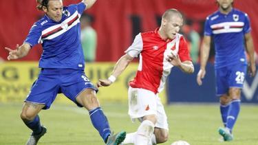 Wechselt von Partizan Belgrad zu Darmstadt 98: Ognjen Ozegovic in Aktion