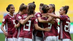 Die Frauen des DFB haben erneut einen Kantersieg gefeiert