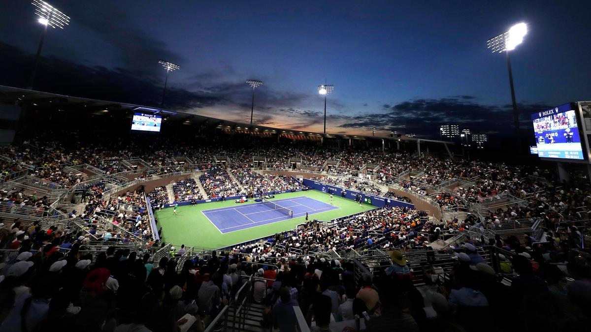 Die US Open finden in Flushing Meadows statt